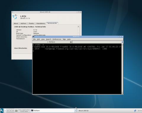LXQt-FreeBSD