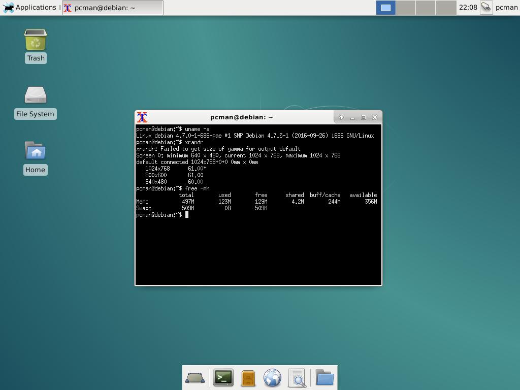 Benchmark: Memory Usage: LXQt desktop environment vs XFCE – LXDE Blog